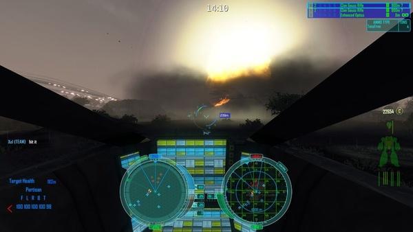 Screenshot zu Crysis - Mod: MechWarrior Living Legends