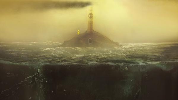 Screenshot zu Little Nightmares - Artworks aus dem Horrorspiel