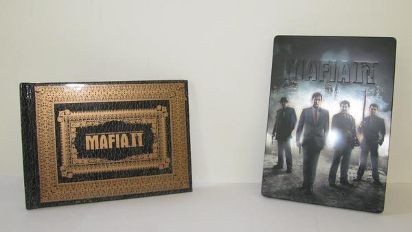 Screenshot zu Mafia 2 - Die Collector's Edition ausgepackt
