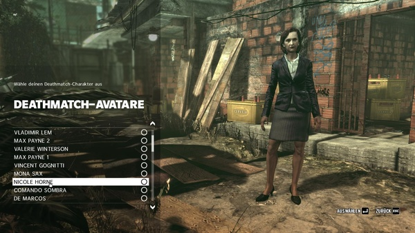 Screenshot zu Max Payne 3 - Multiplayer-Avatare