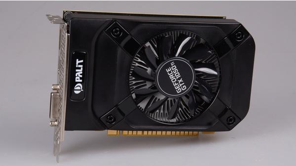 Bilder zu Palit GeForce GTX 1050 Ti StormX - Bilder