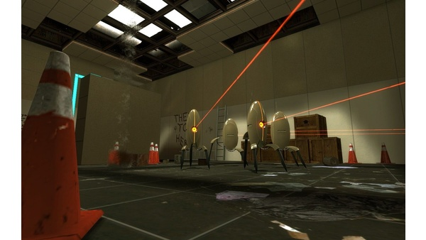 Screenshot zu Portal - Bilder zur Mod »Blue Portals«