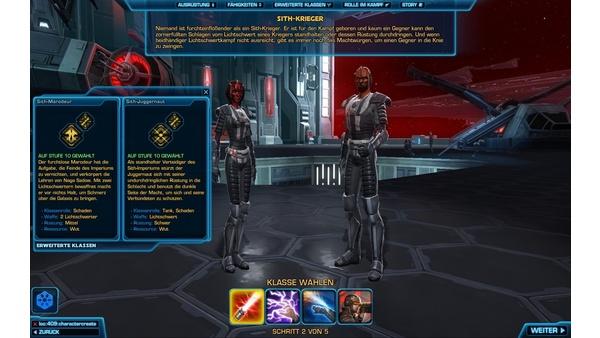 Screenshot zu Star Wars: The Old Republic - Screenshots aus dem Beta-Wochenende