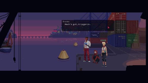 Screenshot zu The Red Strings Club - Screenshots