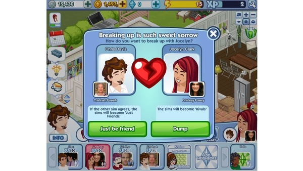 Screenshot zu The Sims Social - Screenshots