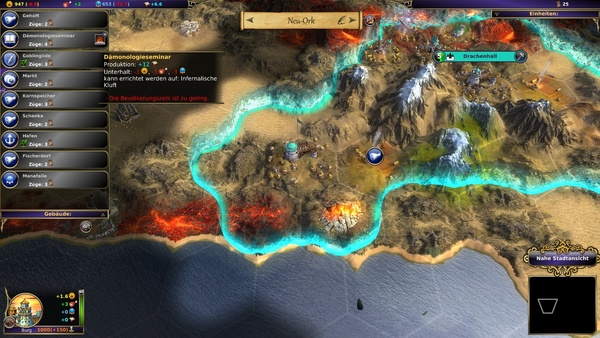Screenshot zu Warlock: Master of the Arcane - Screenshots