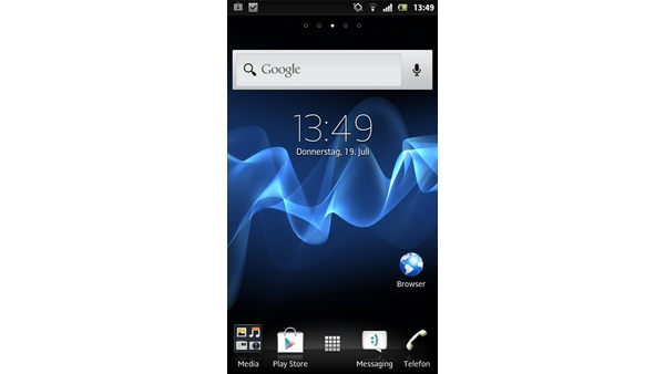 Bilder zu Sony Xperia P - Android-Screenshots