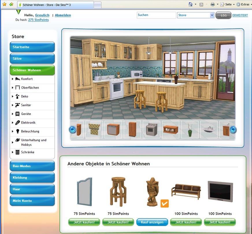 seite 2 die sims 3 online funktionen getestet lohnt. Black Bedroom Furniture Sets. Home Design Ideas