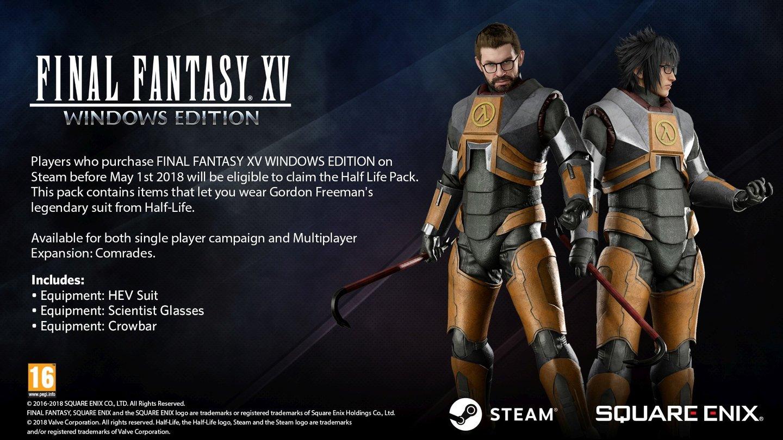 Final Fantasy 15: Vier neue Expansion Packs statt drei