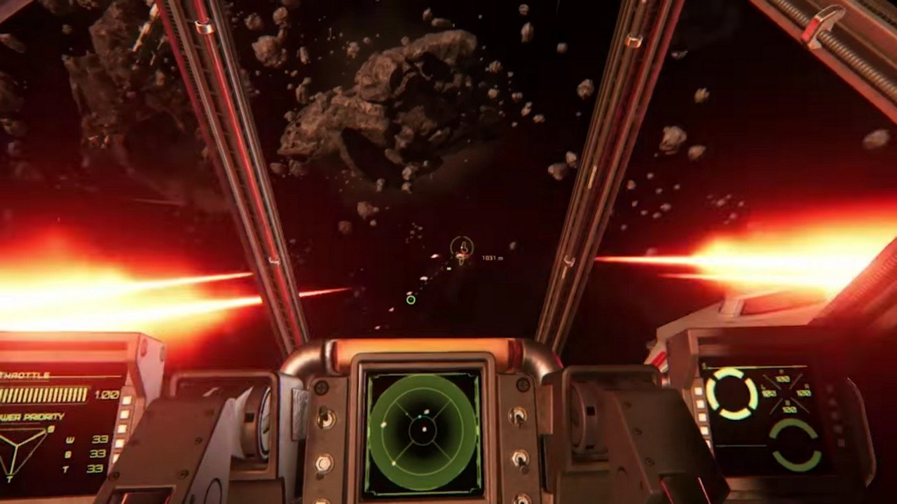 Cockpit-Video zu Star Citizen