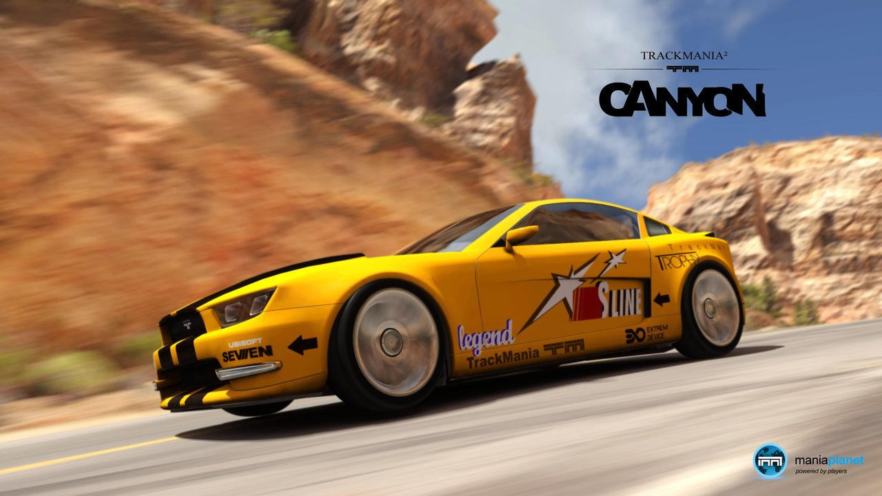 Wallpaper zu Trackmania 2: Canyon herunterladen