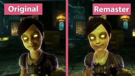 BioShock 2 - Original gegen The Collection Remaster im Grafik-Vergleich