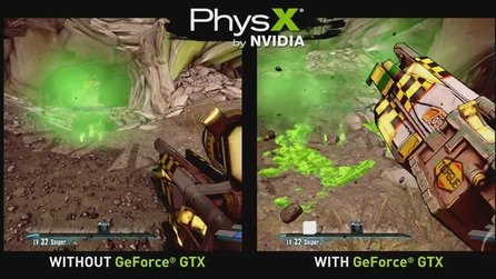 Borderlands 2 - Trailer zeigt PhysX-Effekte