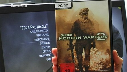Modern Warfare 2 - Boxenstopp: Installation und Steam im Fokus