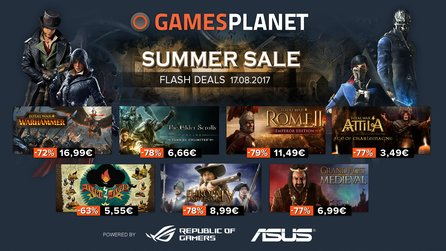 Gamesplanet Summer Sale 2017 - Total War, Europa Universalis, Grand Ages: Medieval
