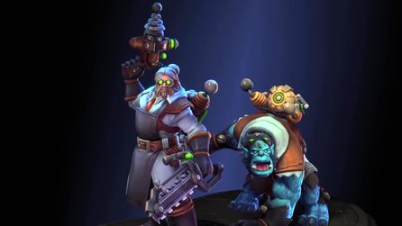 Heroes of the Storm - Overwatch-Held Junkrat und Halloween-Inhalte im Trailer