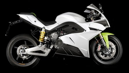 Ride - Elektrisches Superbike Energica Ego im Trailer