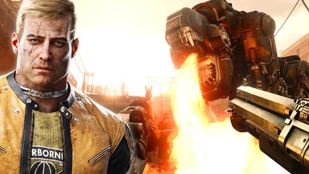 Wolfenstein 2: The New Colossus - Plus-Titelstory: Alles vom exklusiven Entwicklerbesuch