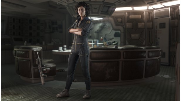 Alien: Isolation - Screenshots aus der »Nostromo-Edition«