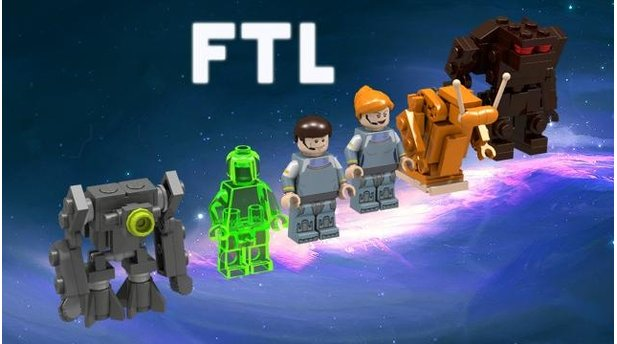 Faster Than Light Lego