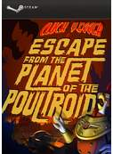 Cover zu Cluck Yegger in Escape From The Planet of The Poultroid
