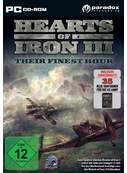 Cover zu Hearts of Iron 3: Their Finest Hour