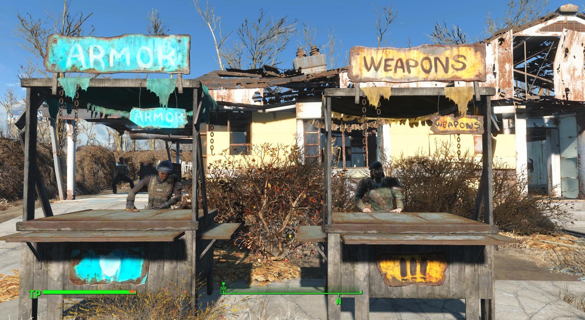 Läden heben in Fallout 4 die Moral unserer Siedler.