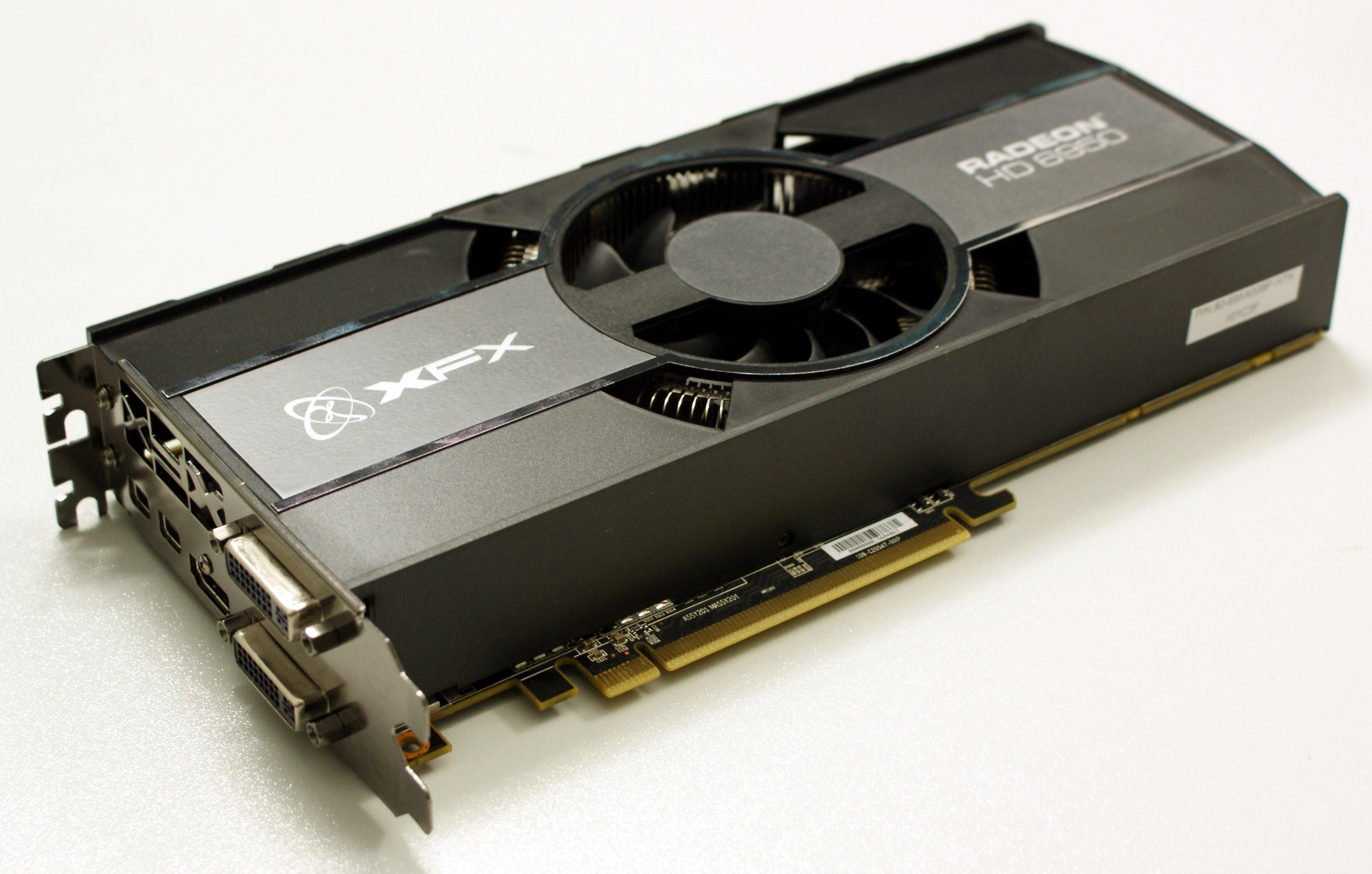 übertaktete Radeon HD 6950