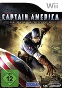 Cover zu Captain America: Super Soldier - Wii