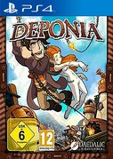 Cover zu Deponia - PlayStation 4