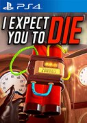 Cover zu I Expect You To Die - PlayStation 4