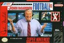 Cover zu John Madden Football '93 - SNES