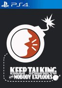 Cover zu Keep Talking and Nobody Explodes - PlayStation 4