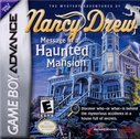 Cover zu Nancy Drew: Message in a Haunted Mansion - Game Boy Advance