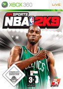 Cover zu NBA 2K9 - Xbox 360