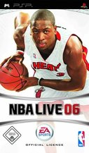Cover zu NBA Live 06 - PSP