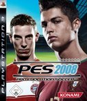 Cover zu Pro Evolution Soccer 2008 - PlayStation 3