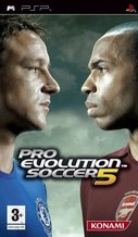Cover zu Pro Evolution Soccer 5 - PSP