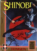 Cover zu Shinobi - NES