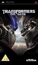 Cover zu Transformers: The Game - PSP