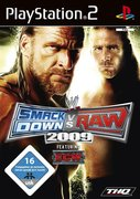 Cover zu WWE Smackdown vs. RAW 2009 - PlayStation 2