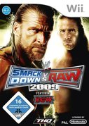 Cover zu WWE Smackdown vs. RAW 2009 - Wii
