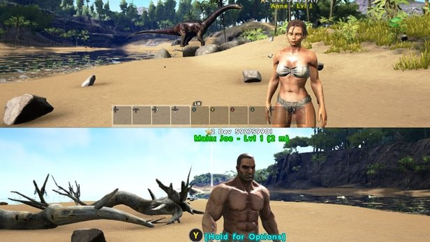 Ark: Survival Evolved - Der Splitscreen-Modus im Check