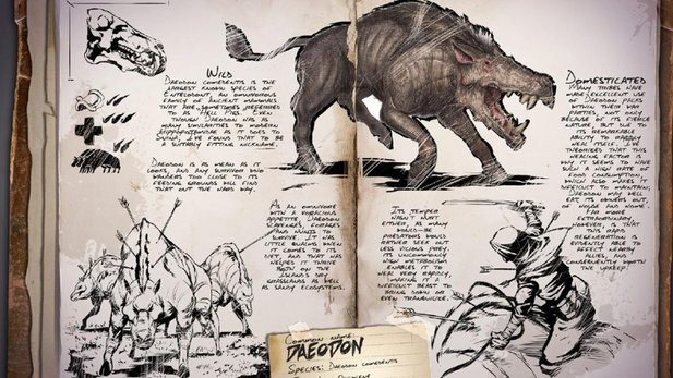 Ark: Survival Evolved - der Daeodon