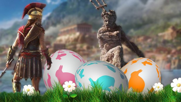 In Assassin's Creed: Odyssey findet ihr eine Menge Easter Eggs.