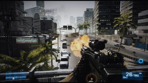 Battlefield 3 - Test-Video der Singleplayer-Kampag