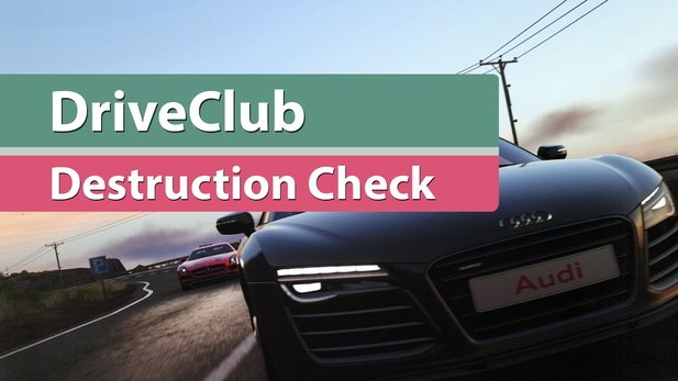 DriveClub - Crash-Test-Video zum Schadensmodell