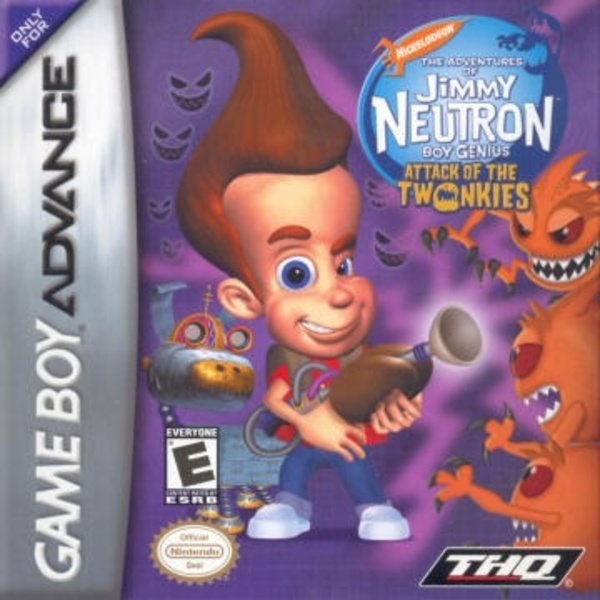 Cover zu Jimmy Neutron vs. Jimmy Negatron