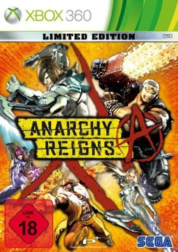 Cover zu Anarchy Reigns