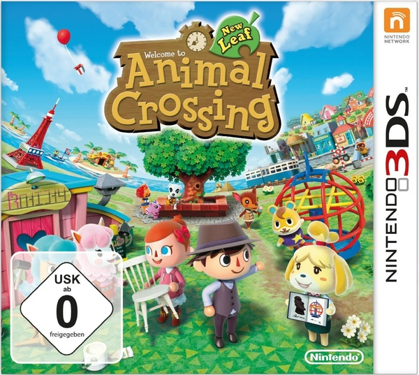 Cover zu Animal Crossing: New Leaf